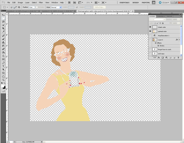 Image_2 Creating a Retro 50s Image in Photoshop Activities Free Editing Tools Photoshop Tips & Tutorials