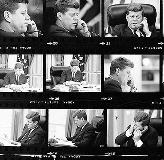 JFK-learns-about-assassination JFK's life remembered through rare Jacques Lowe photographs Exposure