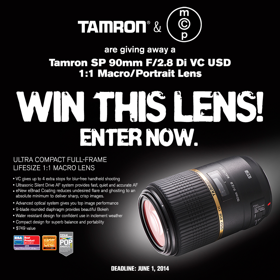 MCP-Win-This_Tamron_F004_Jun2014 Tamron 90mm Macro Lens GIVEAWAY - Win a Sweet New Tamron Lens Announcements Contests
