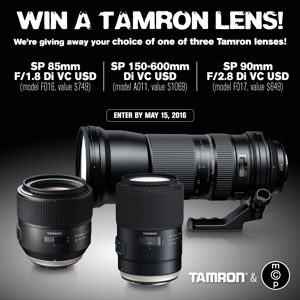 MCP-Win-This_Tamron_choice-of-3_May-2016 Win Your Pick of One of These Three Tamron Lenses Announcements Contests