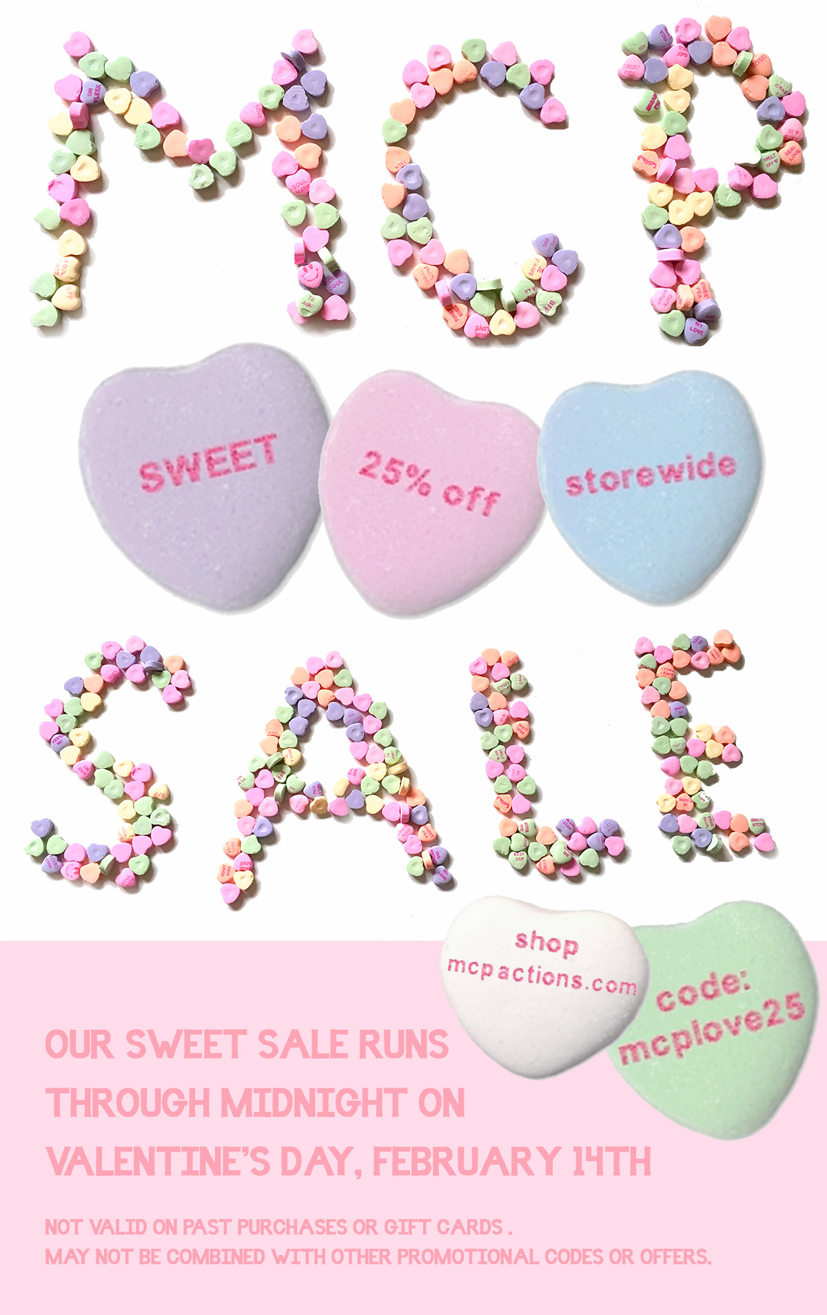 MCP-sale MCP Sweet Sale Starts Now! 25% Off Storewide Announcements Discounts, Deals & Coupons