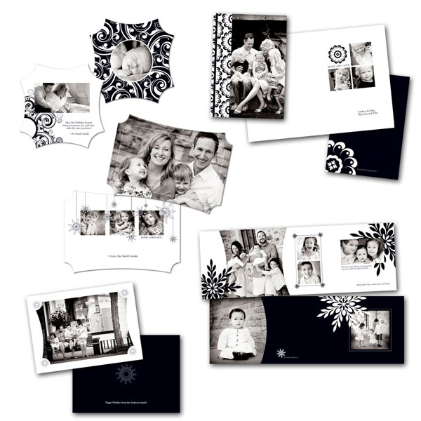 MCPblack-and-white-holiday A Giveaway + Tips for Making the Most of Your Templates Announcements Contests