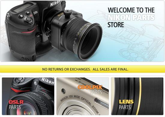 Nikon-Parts-Store Nikon introduces online Parts Store News and Reviews