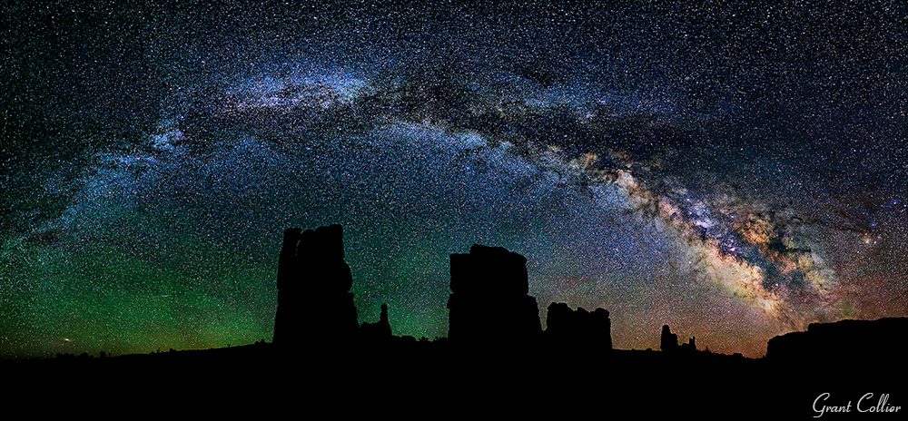 night photography, Milky Way, panoramic, how-to