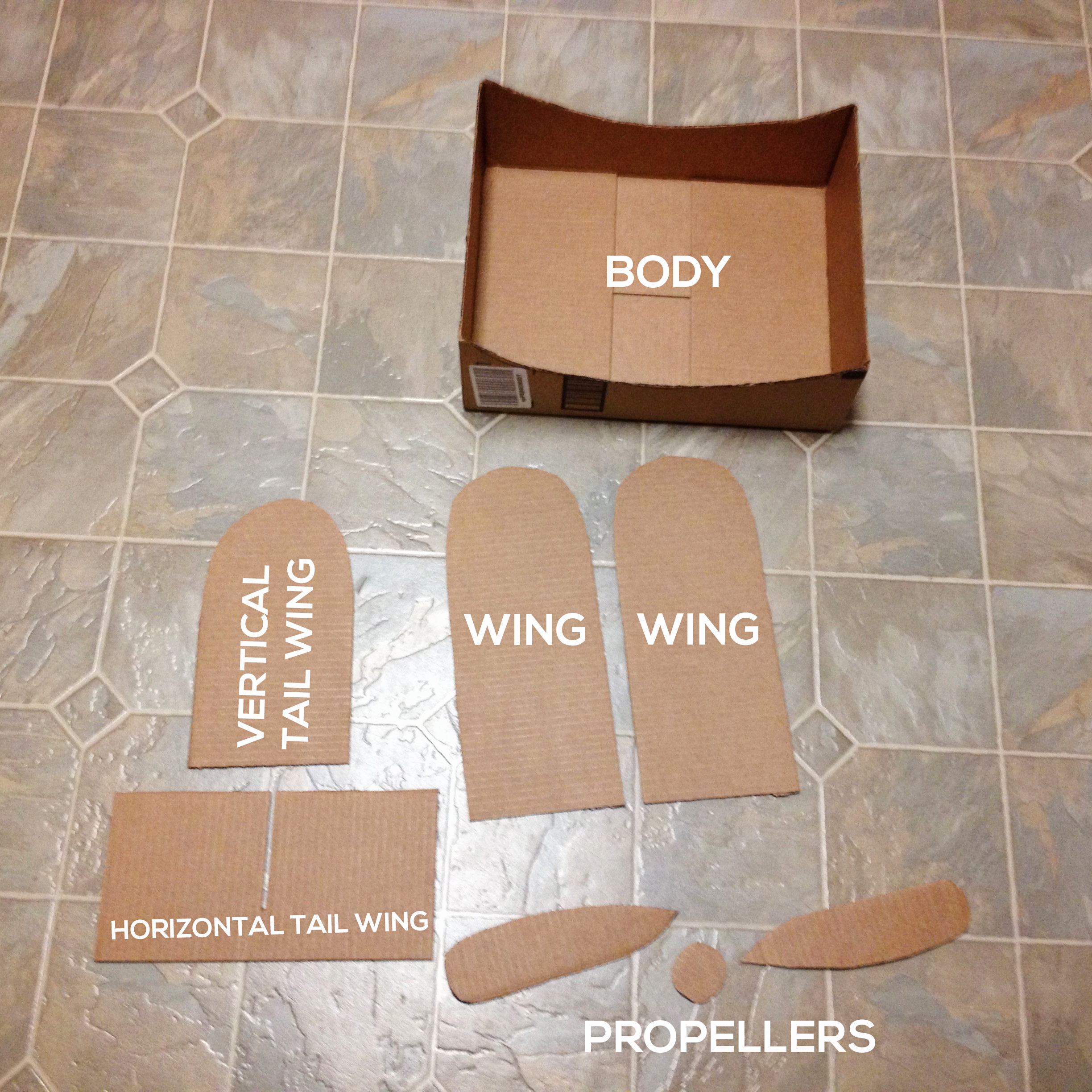 PARTS Make a DIY Box Airplane Prop for Newborn Photography Guest Bloggers Photography Tips Uncategorized
