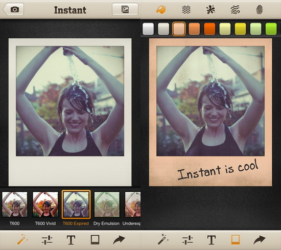 Polaroid-Instant-Camera-iPhone-app Polaroid Instant Camera app released for iPhone users News and Reviews