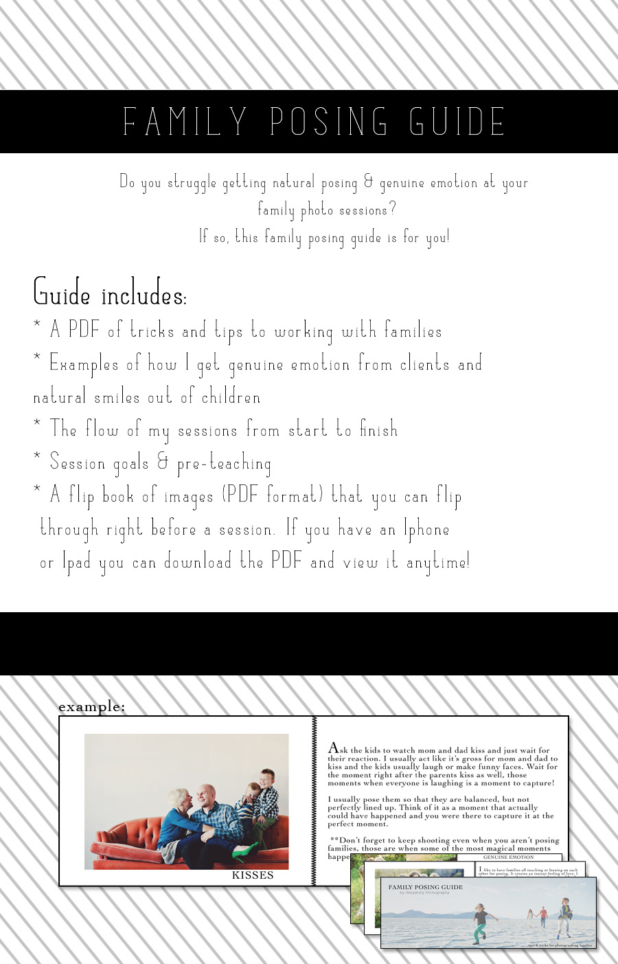 Posing-Guide Contest For A Family Posing Guide + 3 Keys for Successful Family Portrait Sessions Contests Photography Tips