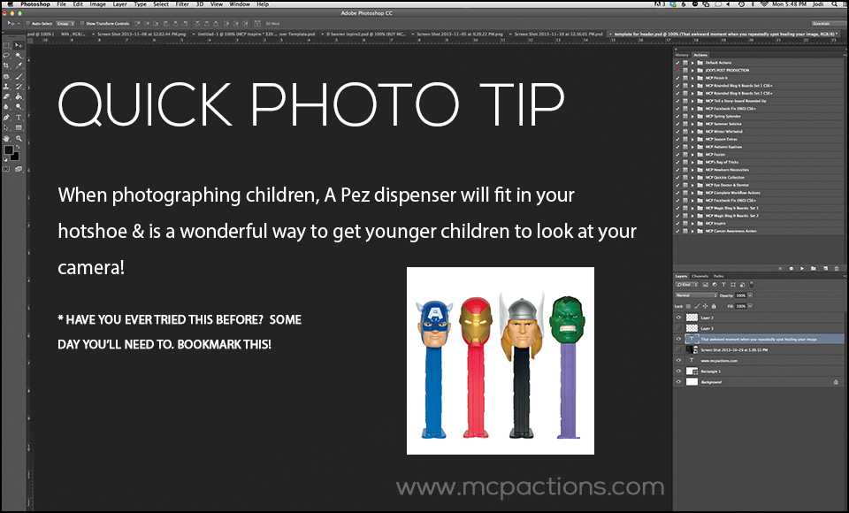Quick-Tip-3 The Perfect Tool for Portraits of Children -- Pez Dispensers Photography Tips