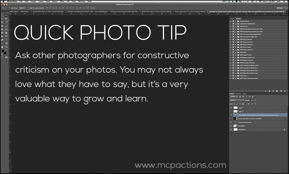 Quick-Tip-4 The Best Ways To Get Better At Photography Photography Tips