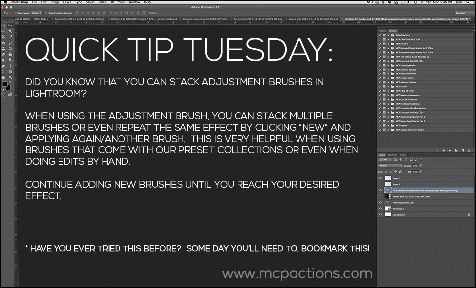 Quick-Tip-Tuesday10_28 Quick Tip Tuesday - Try These Editing Tips Lightroom Tutorials MCP Thoughts Photography Tips