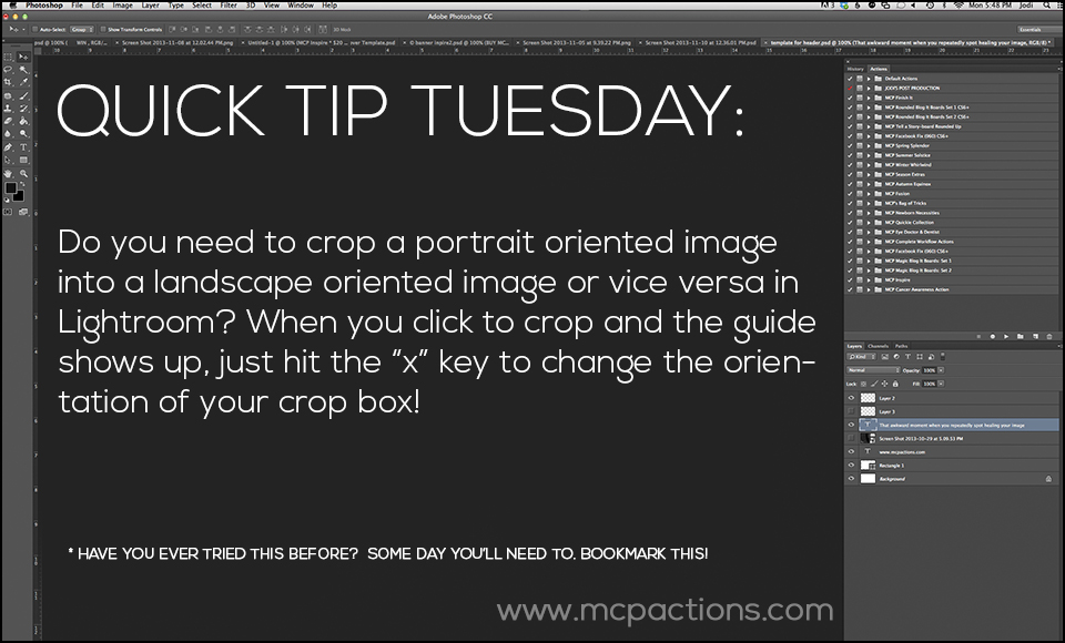 Quick-Tip-TuesdayB3 Quick Tip Tuesday - Try These Editing Tips Lightroom Tutorials MCP Thoughts Photography Tips