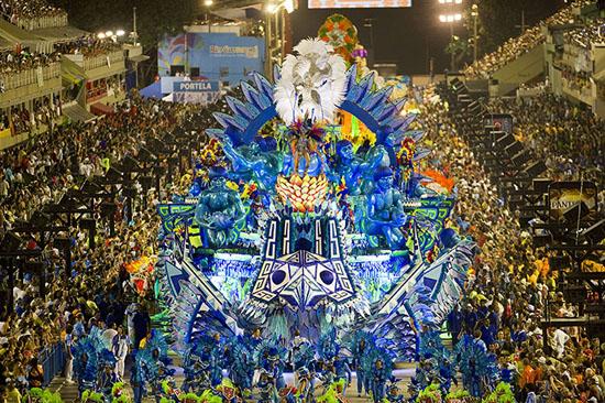 Revelers-of-Portela-samba-004 2013 Rio Carnival: color, music, dance and skin Exposure