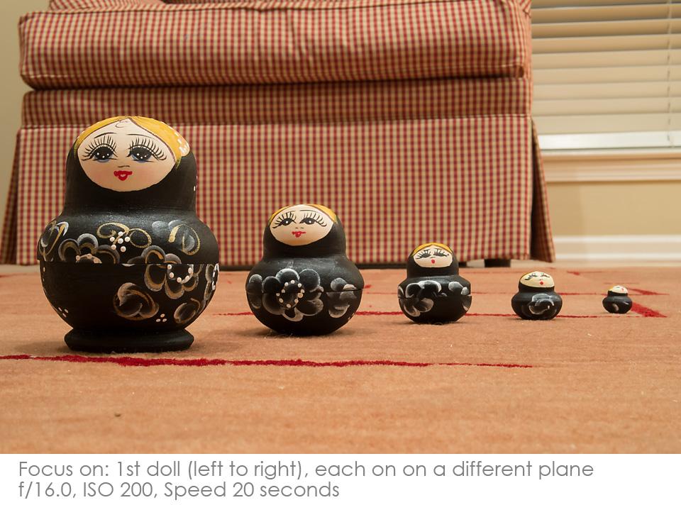 Russian-Matryoshka-Dolls-f16 Depth of Field: A Visual Lesson Activities Photography Tips