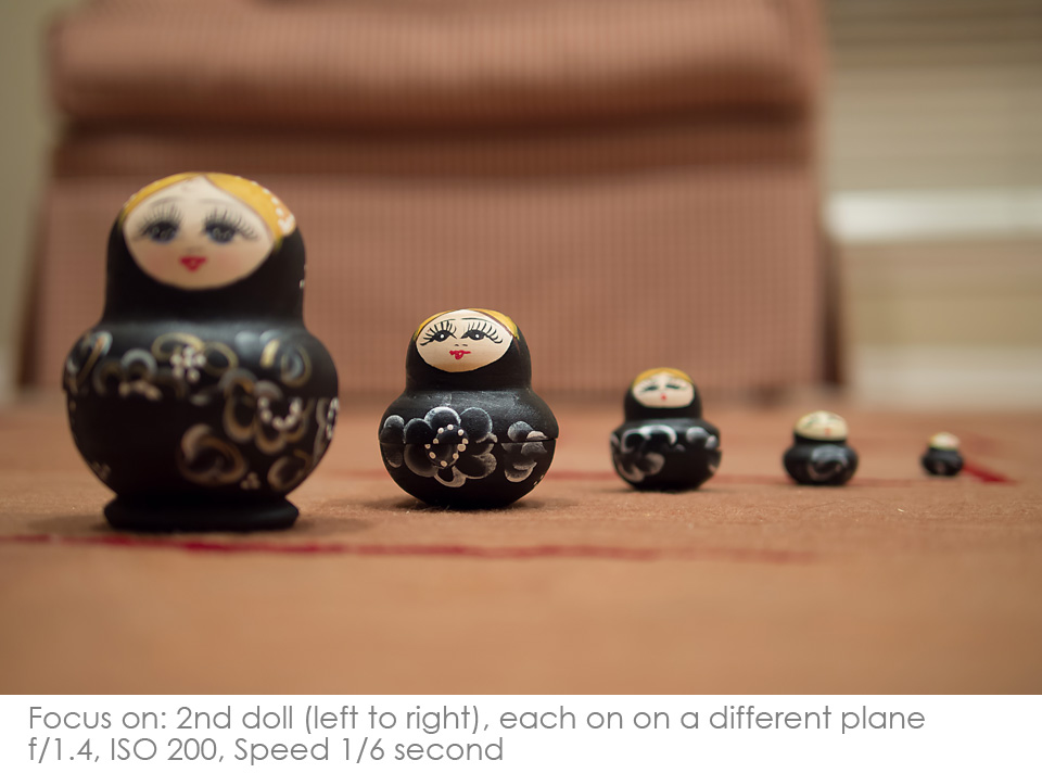 Russian-Matryoshka-Dolls-focus-2nd Depth of Field: A Visual Lesson Activities Photography Tips
