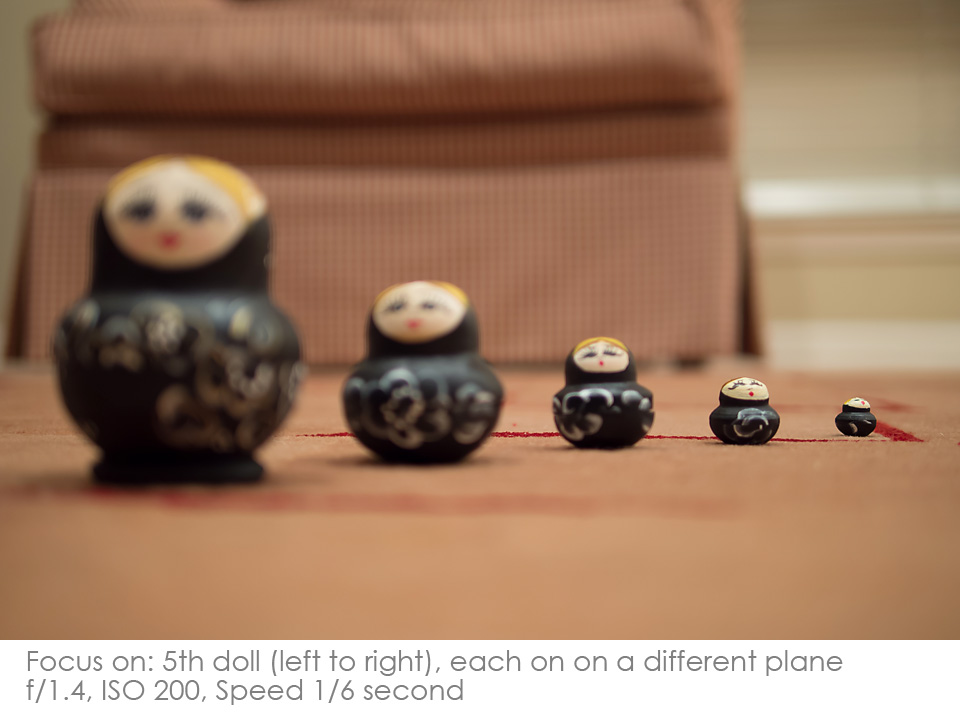Russian-Matryoshka-Dolls-focus-5th Depth of Field: A Visual Lesson Activities Photography Tips