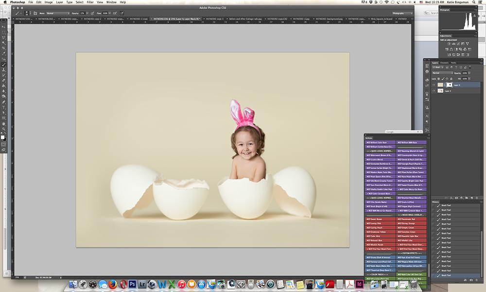 Screen-Shot-12-sm How to Create Unique Easter Egg Composite Portraits Activities Guest Bloggers Photoshop Tips & Tutorials