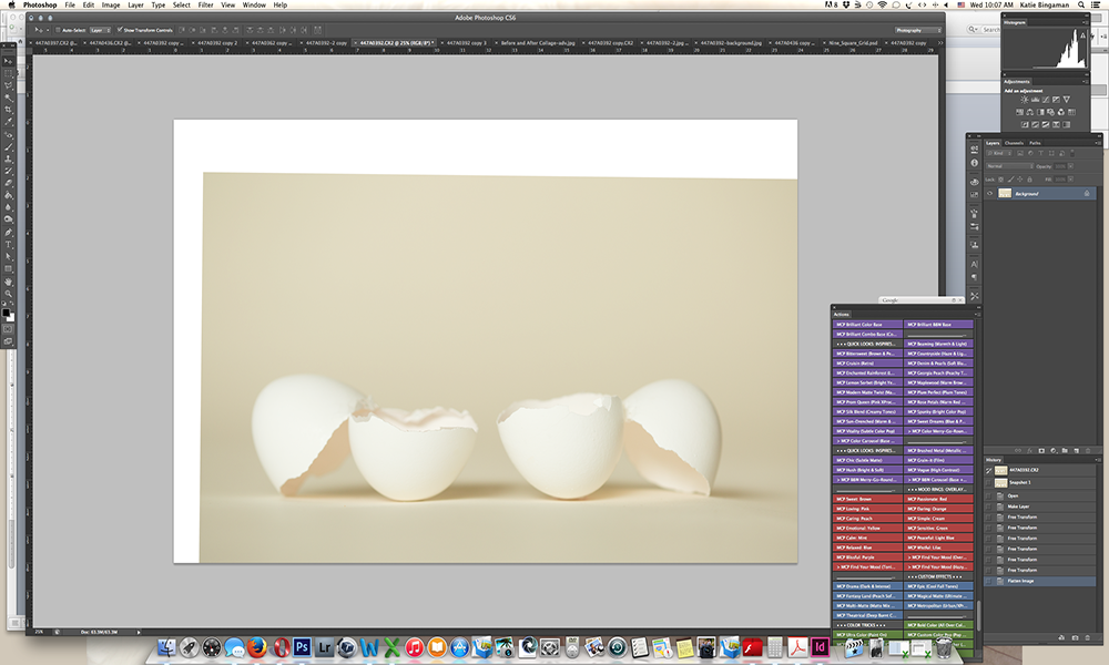 Screen-Shot-5-sm How to Create Unique Easter Egg Composite Portraits Activities Guest Bloggers Photoshop Tips & Tutorials