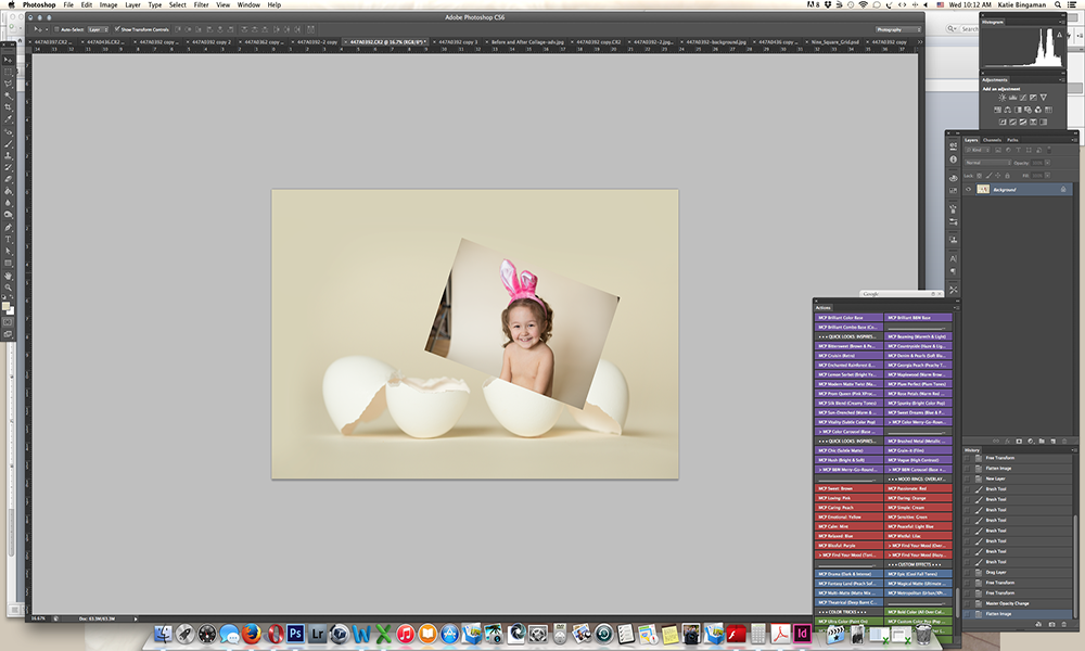 Screen-Shot-8-sm How to Create Unique Easter Egg Composite Portraits Activities Guest Bloggers Photoshop Tips & Tutorials