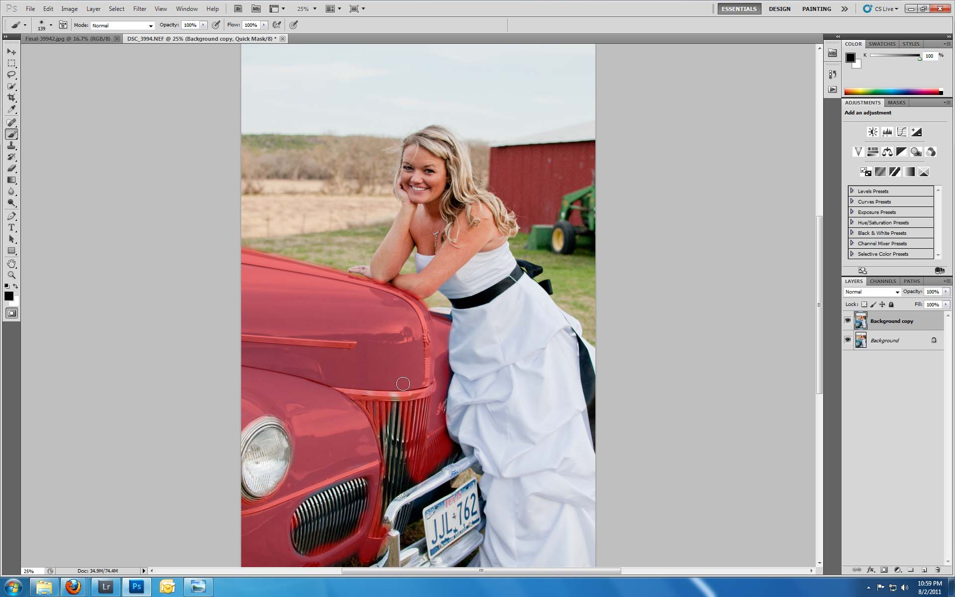 ScreenShot0041 Use Photoshop to Change the Color of Objects in Your Photos Guest Bloggers Photoshop Tips & Tutorials