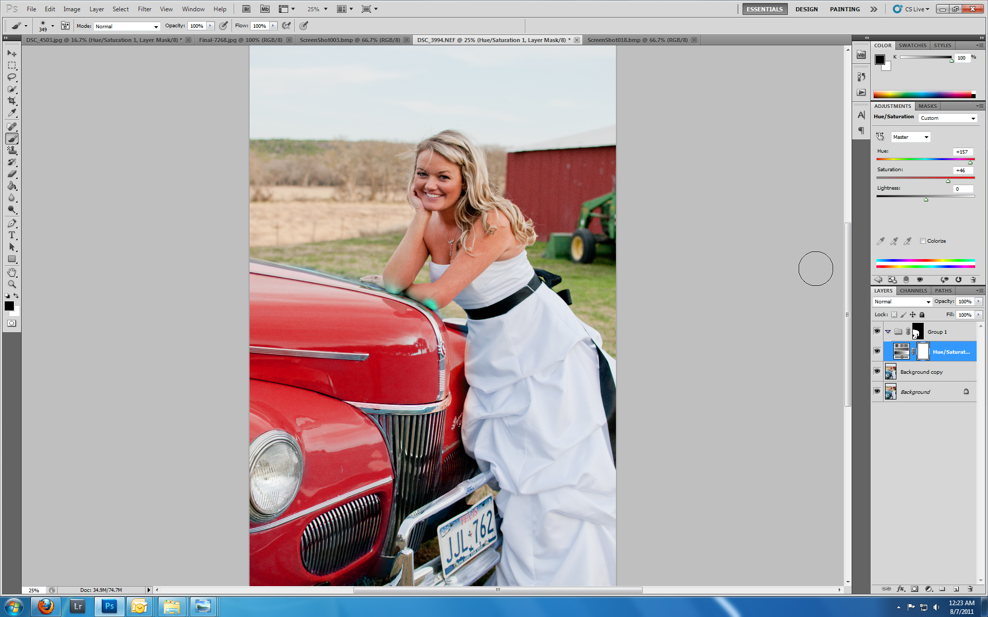 ScreenShot019 Use Photoshop to Change the Color of Objects in Your Photos Guest Bloggers Photoshop Tips & Tutorials
