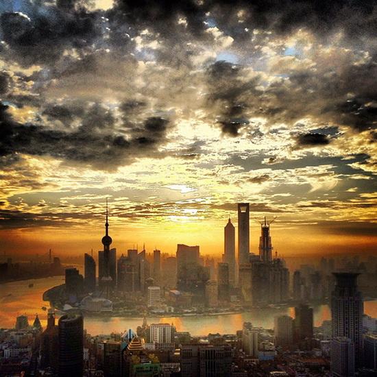 Shanghai-sunset-Jimmy-Cohrssen Photographer Jimmy Cohrssen shares iPhoneography tips News and Reviews