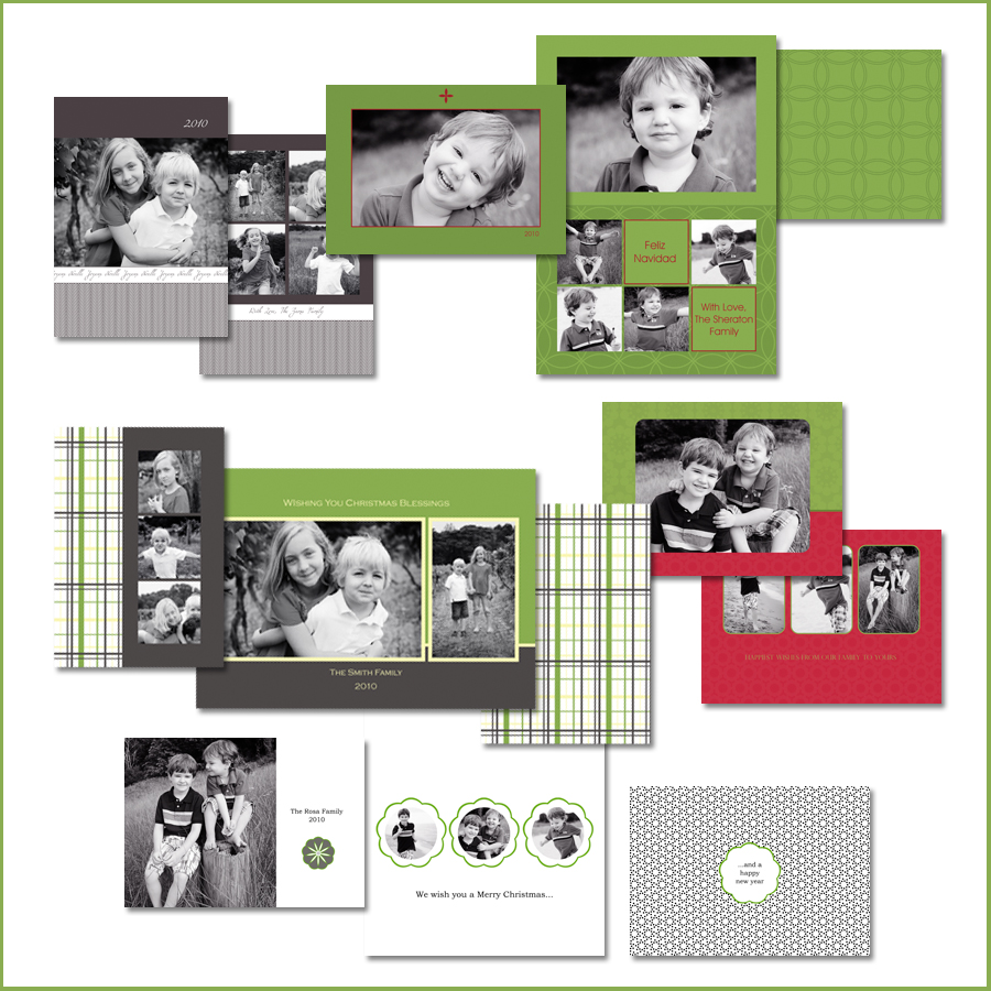 Simple-Holiday-Card-Templates-Sample Win Holiday Card Templates from Photographer Cafe Contests