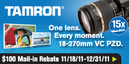 Tamron_N-D_B008_252x125 Tamron Lens Giveaway: Win a 18-270mm Di II Lens for Nikon, Canon, Sony dSLR Cameras Announcements Contests