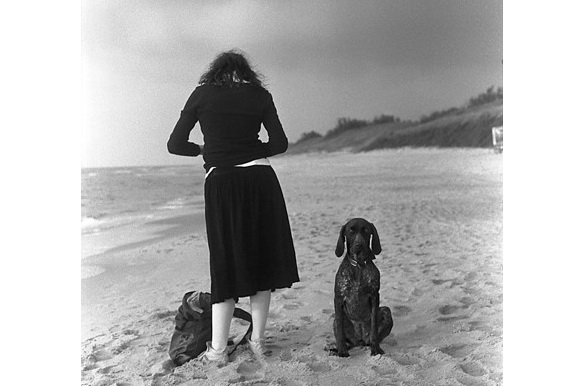 A girl and a dog image by Andrej Vasilenko