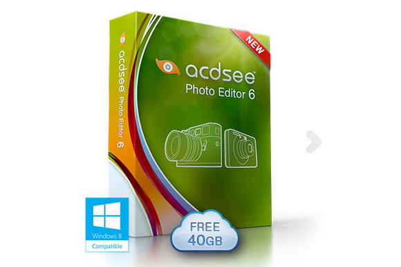 ACDSee Photo Editor 6 is compatible with Windows 8 computers
