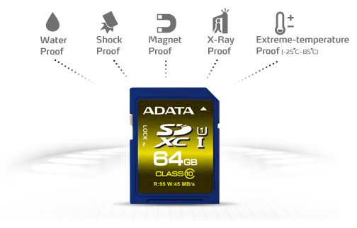 adata-premier-pro-sdxc-64gb-card Adata announces new Premier series SD and microSD memory cards News and Reviews