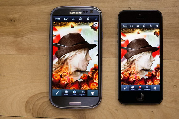 Adobe Photoshop Touch for iPhone and Android smartphones released for download