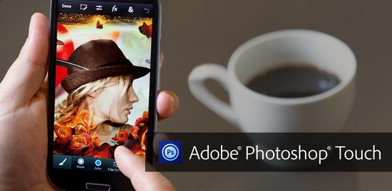 adobe-photoshop-touch-smartphones Adobe Photoshop Touch now available on iPhone and Android smartphones News and Reviews
