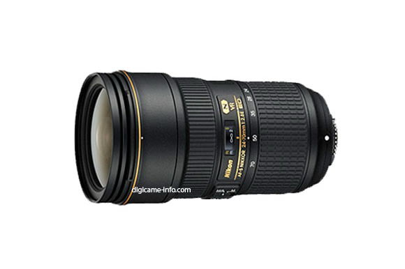 AF-S Nikkor 24-70mm f/2.8E ED VR leaked