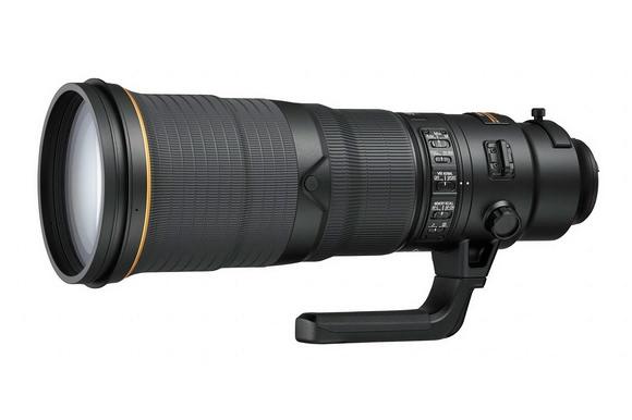 AF-S Nikkor 500mm f/4E FL ED VR telephoto lens