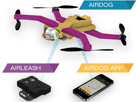 airdog-and-airleash AirDog: a drone that serves as your video recording sidekick News and Reviews
