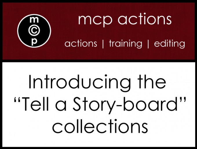 announcement-copy Introducing MCP Actions NEW Tell a Storyboard Action Sets Announcements Photoshop Actions