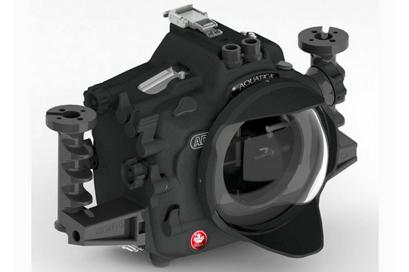 Aquatica AD4 underwater housing for Nikon D4 officially announced with depth rating of 130 meters / 425 feet.