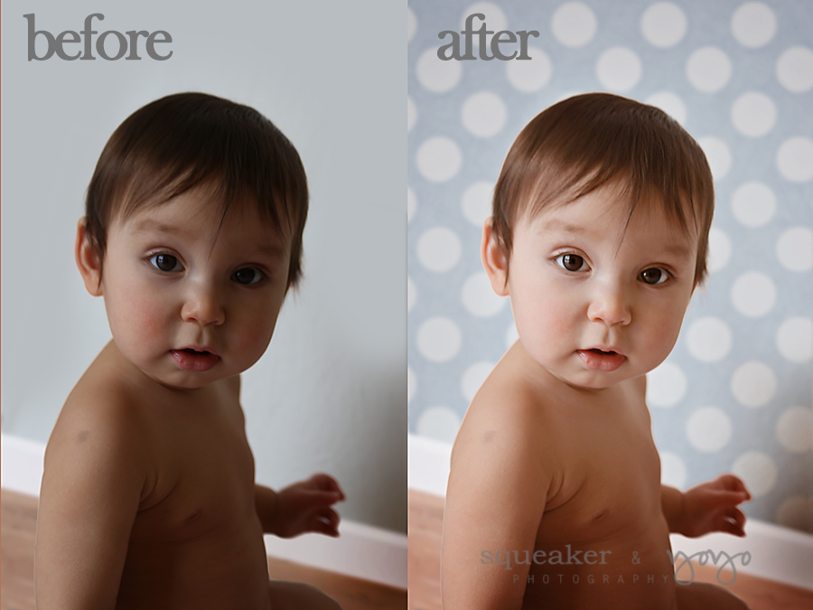 before-and-after-2 Easy Ways to Add Pizzazz To Blank Walls in Photoshop Free Actions Free Editing Tools Guest Bloggers