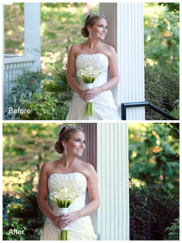 beforeandafter1-e1323917135239 How To Edit A Bridal Image Using Photoshop Actions Blueprints Guest Bloggers Photography Tips Photoshop Actions