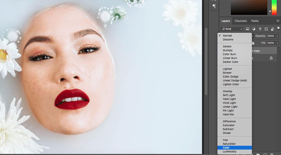 black-being-the-first-color How to Selectively Desaturate Images in Photoshop Photo Editing Tips