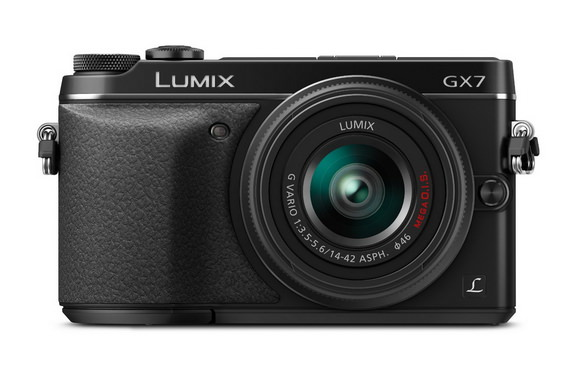 Black Panasonic Lumix GX7