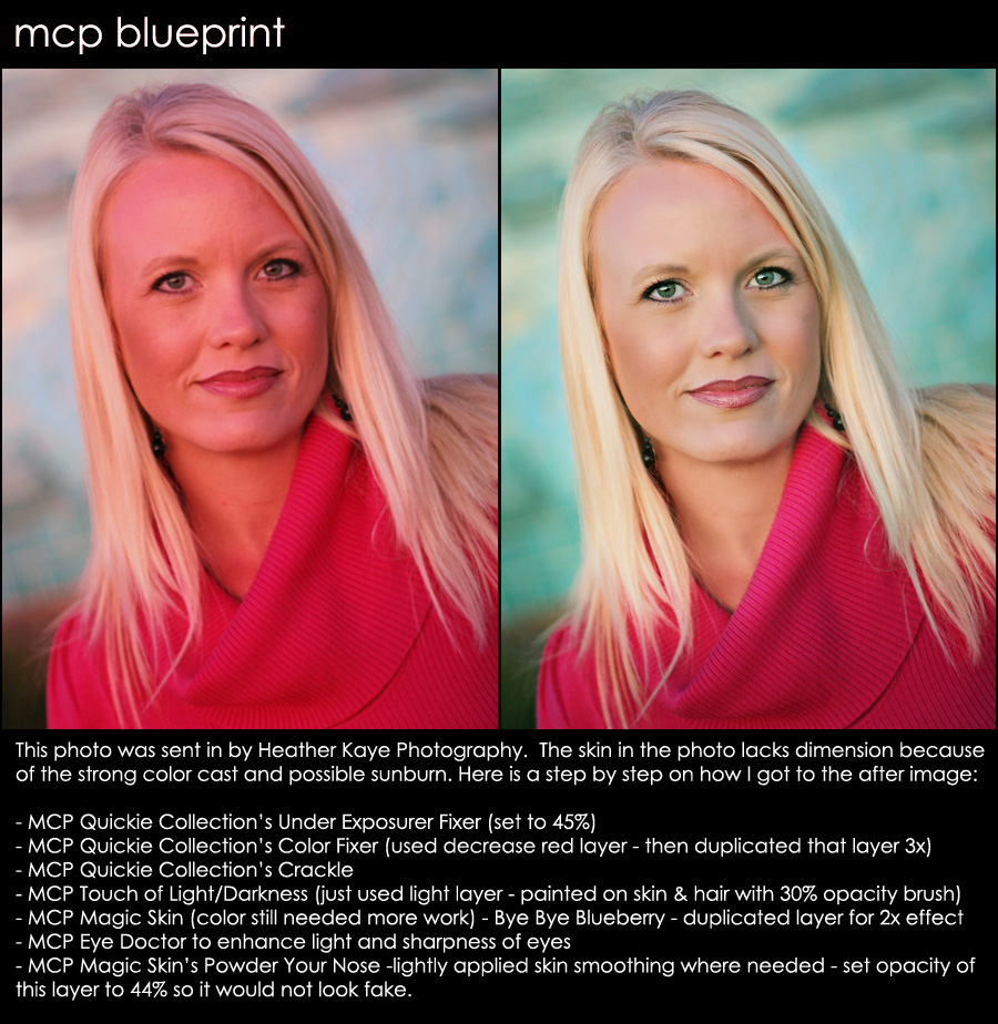 blueprint131 Blueprint - Getting Rid of Poor Color with Photoshop Actions Blueprints Photoshop Tips & Tutorials