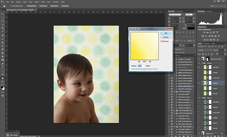 blur Easy Ways to Add Pizzazz To Blank Walls in Photoshop Free Actions Free Editing Tools Guest Bloggers