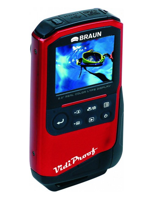braun-vidi-proof Kenro introduces Braun Vidi Proof underwater camcorder News and Reviews