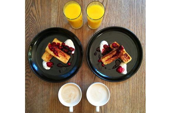 Symmetry Breakfast: Brioche Pain Perdue