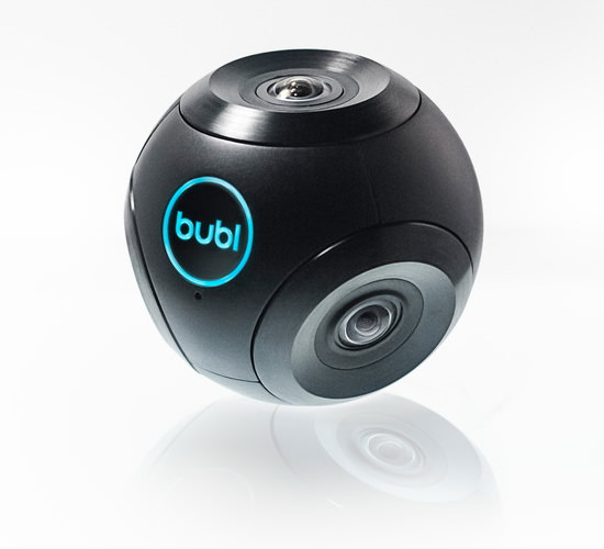 bublcam Bublcam is an innovative 360-degree camera with a cute design News and Reviews