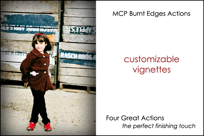 burnt-edges Free MCP Photoshop Actions * Hurry and Get Them Discounts, Deals & Coupons Free Actions