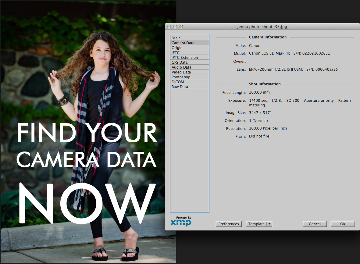 camera-data The Most Valuable Photography Learning Tool... And It Is Free Lightroom Tutorials MCP Thoughts Photography Tips Photoshop Actions