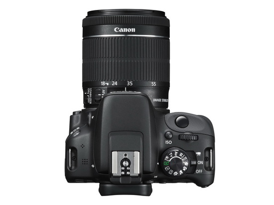 canon-100d-rebel-sl1-top-controls Canon 100D / Rebel SL1 becomes world's smallest and lightest DSLR News and Reviews