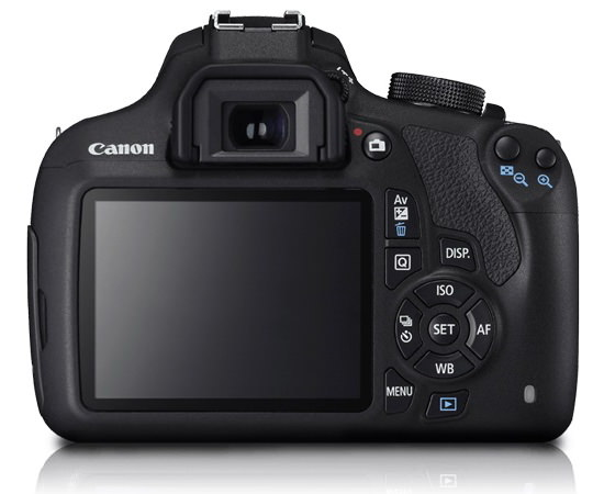 canon-1200d-rear Canon 1200D / Rebel T5 entry-level DSLR camera announced News and Reviews